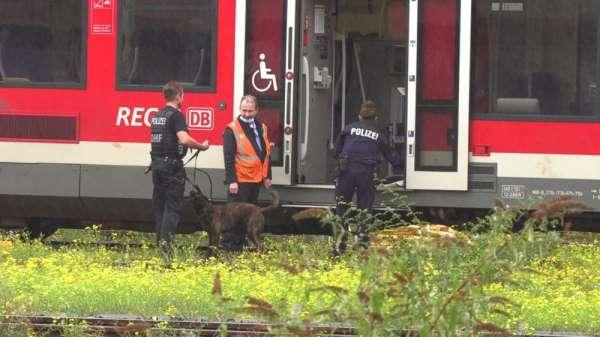 Köln'de terör alarmı, trende bomba bulundu