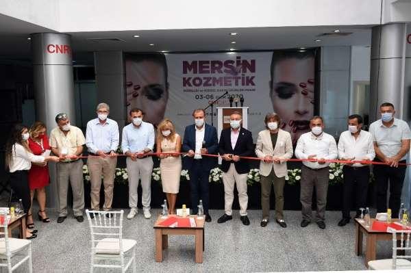 Mersin Kozmetik, Güzellik ve Kişisel Bakım Ürünleri Fuarı açıldı