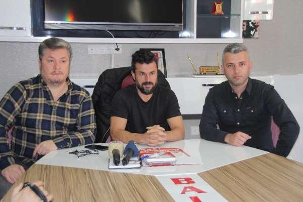 Balıkesirspor'da şok istifa