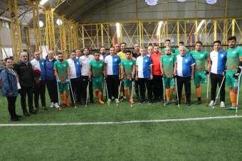 Engelliler Günü'nde dostluk maçı