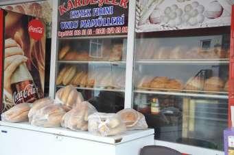 Gerze'de askıda ekmek uygulaması