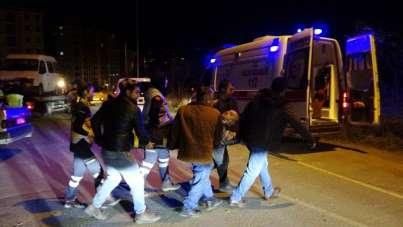 Ordu'da trafik kazası: 1'i çocuk 4 yaralı