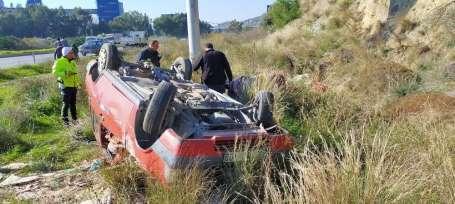 Söke'de trafik kazası; 1 yaralı