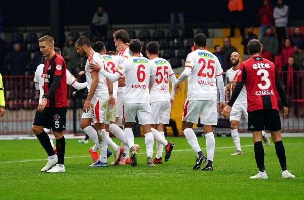 Ziraat Türkiye Kupası: Fatih Karagümrük: 0 - Göztepe: 1 (İlk yarı)