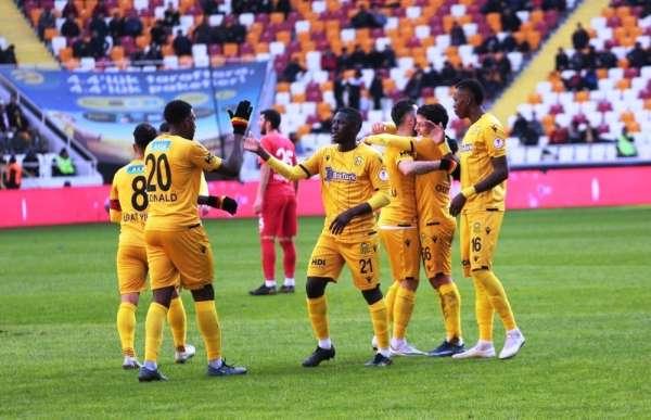 Ziraat Türkiye Kupası: Yeni Malatyaspor: 2 - Keçiörengücü: 0 (İlk yarı)