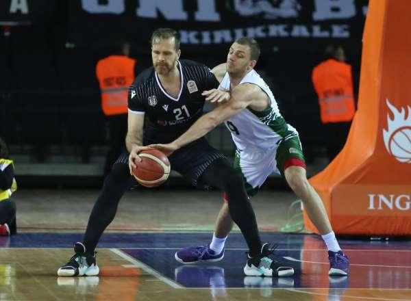 Basketbol Süper Ligi: OGM Ormanspor: 72 - Beşiktaş Sompo Sigorta: 80