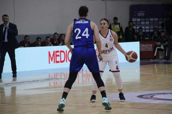 Kadınlar Basketbol Süper Ligi: Elazığ İl Özel İdare: 87 - Fenerbahçe: 84