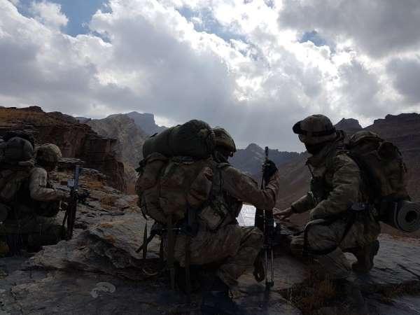 MSB: 'Irak'ın kuzeyindeki Avaşin-Basyan bölgesinde eylem hazırlığında olduğu tes