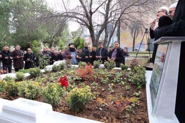 Şehit asker Mahmut Mücahit Ülgen, mezarının başında dualarla anıldı
