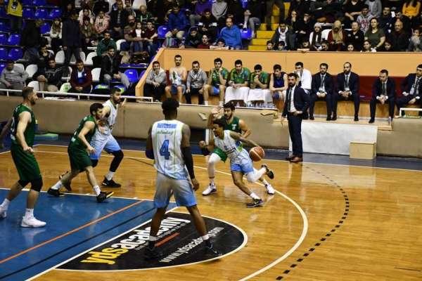 Türkiye Basketbol ligi: Balıkesir Büyükşehir Belediyespor: 59 - Bornova Belediye