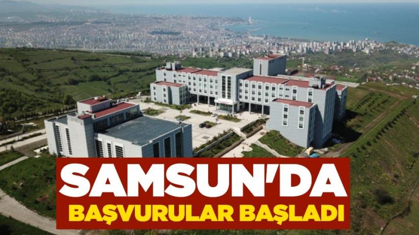 Samsun'da başvurular başladı