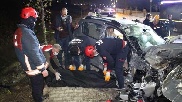 Elazığdaki feci kazada ölen 4 kişinin kimliği belli oldu