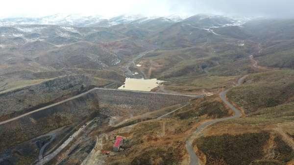 Konya Hadim Yarıcak Barajı su tutmaya başladı