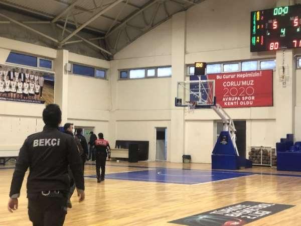 Olaylı Mersin maçının ÇBSKya faturası 4 bin 875 TL
