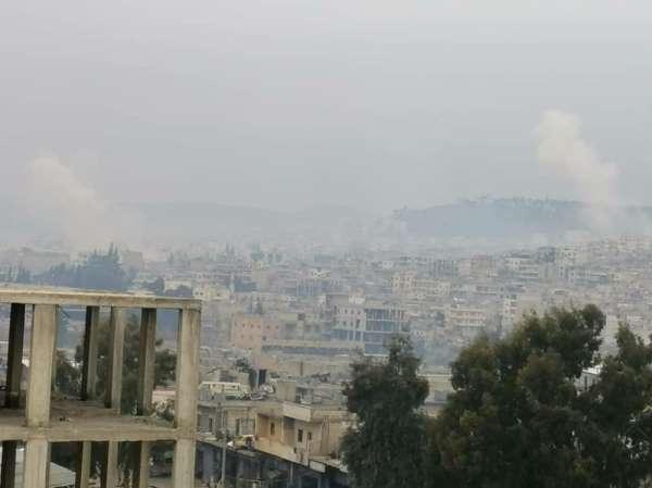 Afrin'de okul ve camiye füzeli saldırı