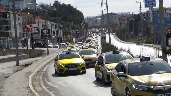 Bartınlı şoförlerden İdlib şehitleri için konvoy