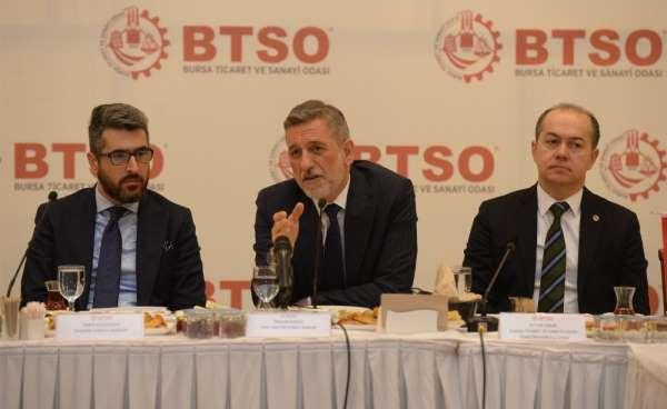 Burkay: 'Bursa AR-GE ve tasarım merkezi oluyor'