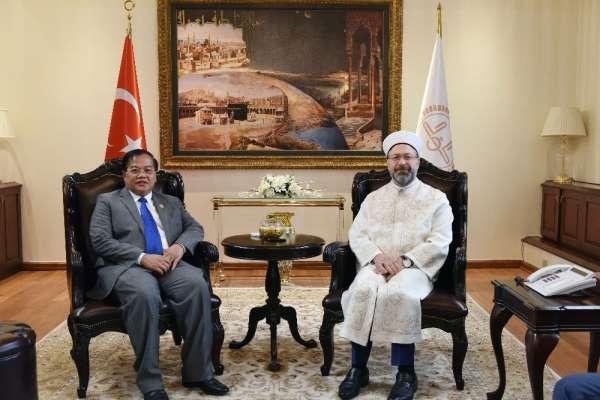 Diyanet İşleri Başkanı Erbaş: 'Müslümanlara yönelik yapılan dışlayıcı hareketler