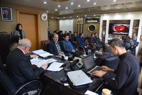Dursunbey Belediye Meclisinde İdlib şehitleri unutulmadı