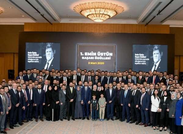 Emin Grup İcra Kurulu Başkanı Sefa Üstün,' Türkiye ekonomisine büyük katkılar su