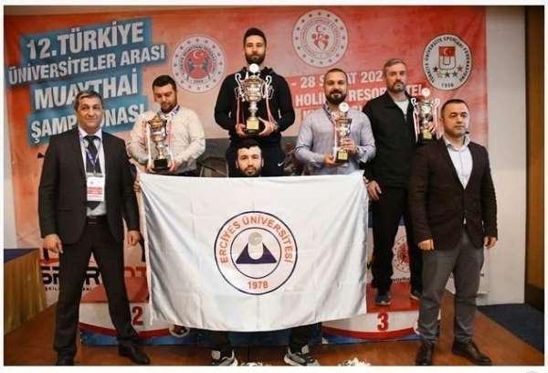 Erciyes Üniversitesi, Muaythai'de Türkiye Şampiyonu oldu