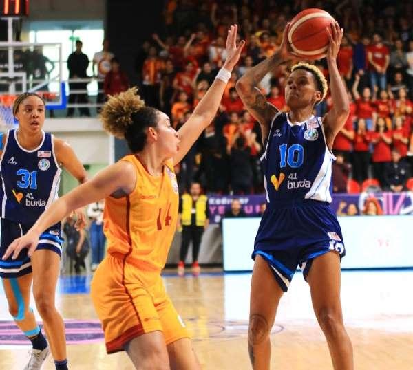 Kadınlar Türkiye Kupası: Galatasaray: 66 - İzmit Belediyespor: 81