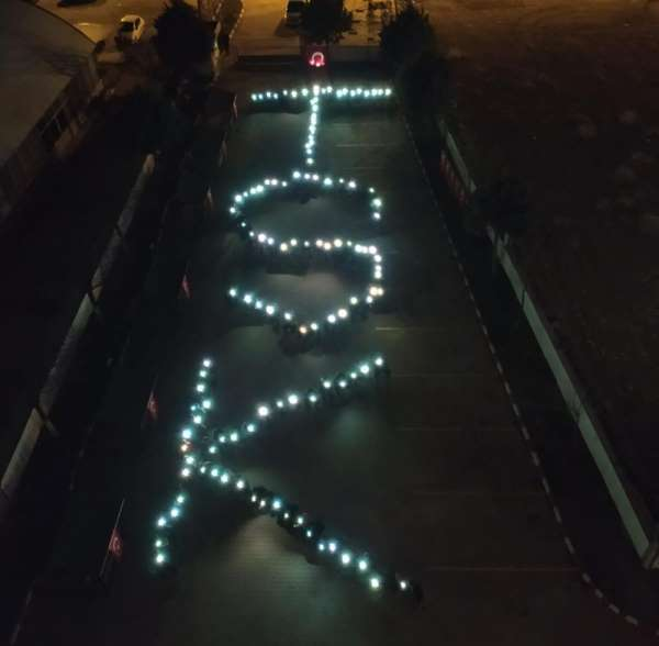 Konya'da üniversite öğrencilerinden Bahar Kalkanı Harekatı'na destek