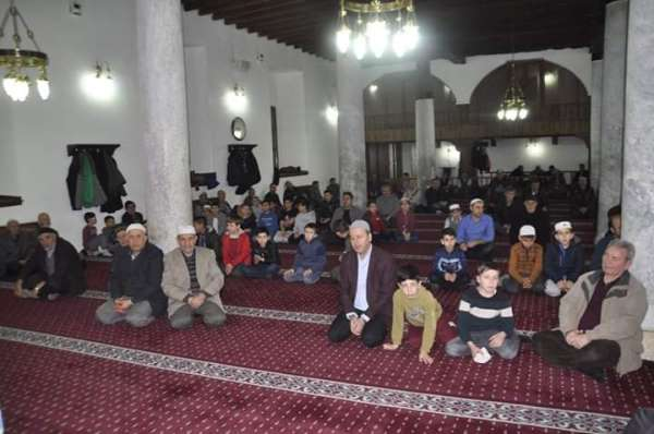 Şuhut'ta İdlib şehitleri için Mevlid-i Şerif okutuldu