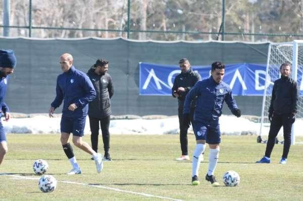 BB Erzurumsporda Göztepe maçı hazırlıkları başladı