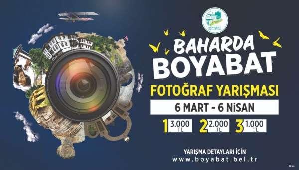 Boyabat Belediyesinden Baharda Boyabat temalı fotoğraf yarışması
