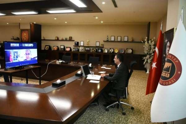Gaziantepte Türk-Alman yatırım, ekonomi ve iş birliği günü toplantısı