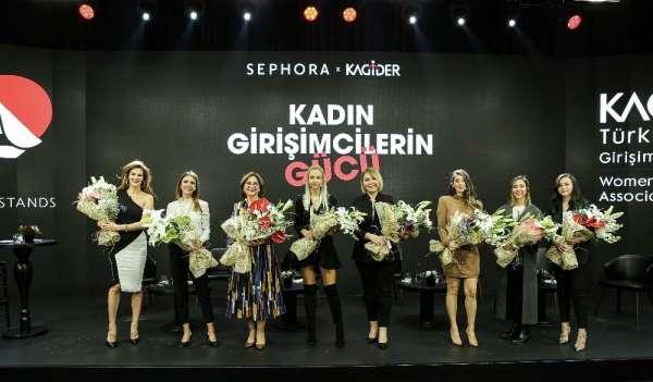 Sephora Türkiye ve KAGİDERden kadın girişimcilere sürdürülebilir destek
