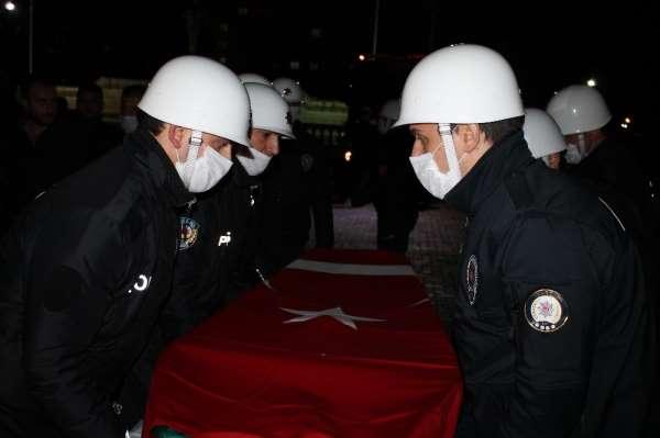 PKK Terör örgütü alçak saldırısında hayatını kaybeden Sivil Şehit son yolculuğa