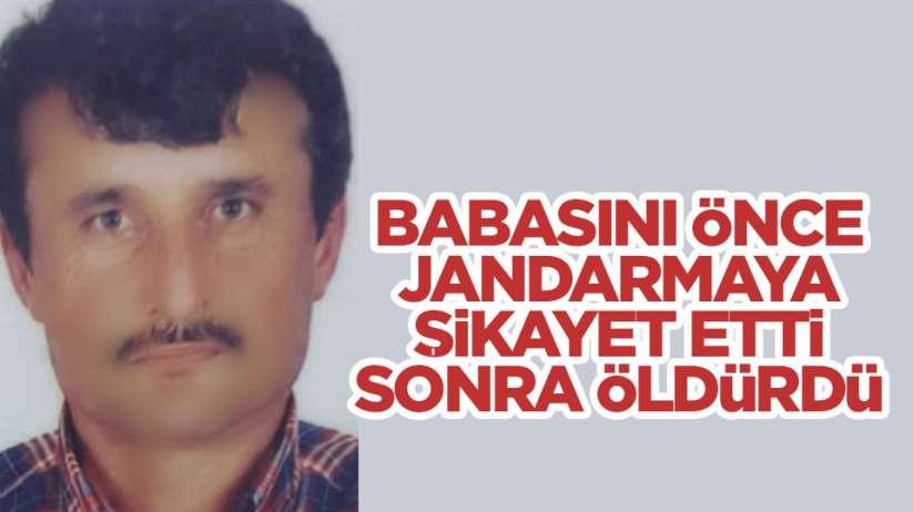 Samsun'da babasını tüfekle öldürdü