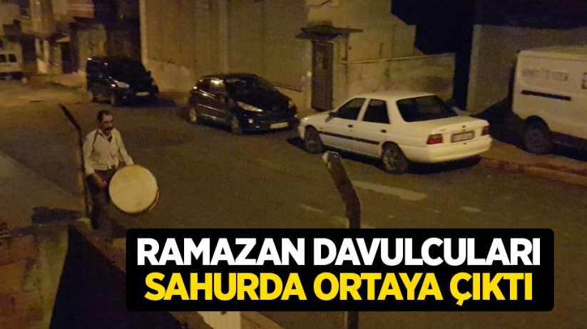 Samsun'da bazı mahalleler, bu Ramazan ilk kez davul sesi duydu