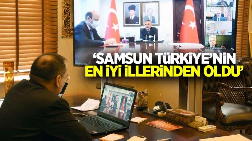 'Samsun Türkiye'nin en iyi illerinden oldu'