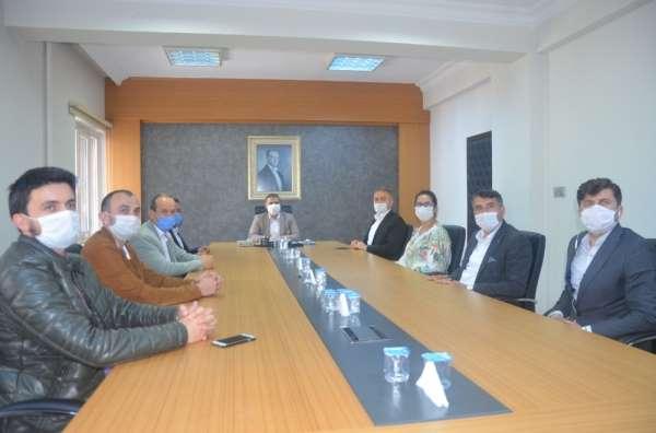 AK Parti'den Kaymakam Güney'e 'korona' teşekkürü