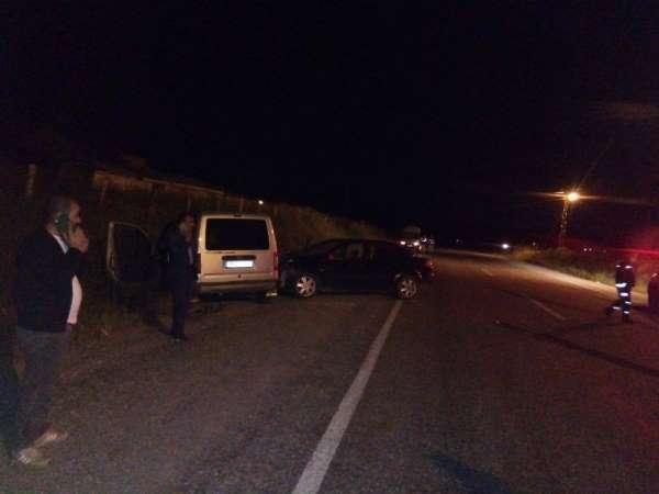 Muş'ta trafik kazası; 3 yaralı