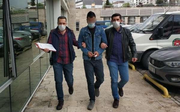 Samsun'da bıçakla yaralamaya tutuklama