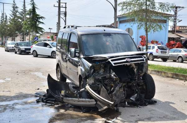 Samsun'da sanayide kaza: 1 yaralı