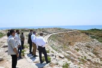 Vali Elban: 'Magarsus Antik Kenti'nin tarihsel zenginliği insanlığa kazandırılac