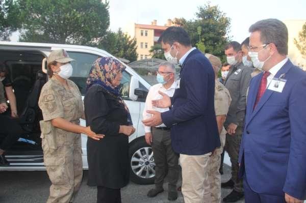 Giresundaki selde şehit olan askerin cenazesi memleketine uğurlandı