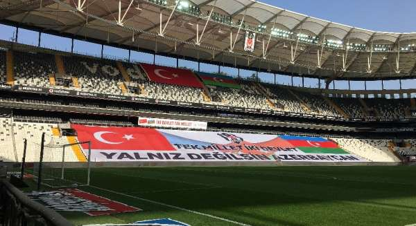 Beşiktaş'tan Azerbaycan'a destek
