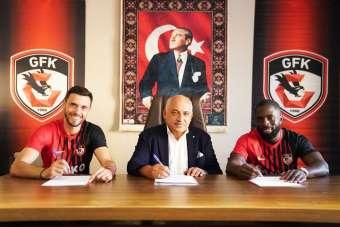 Gaziantep FK Nouha Dicko ve Amedej Vetrih ile sözleşme imzaladı