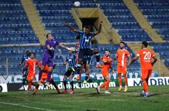 TFF 1. Lig: Adana Demirspor: 0 - Adanaspor: 0