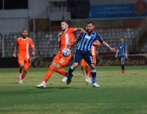 TFF 1. Lig: Adana Demirspor: 0 - Adanaspor: 0 (İlk yarı sonucu)