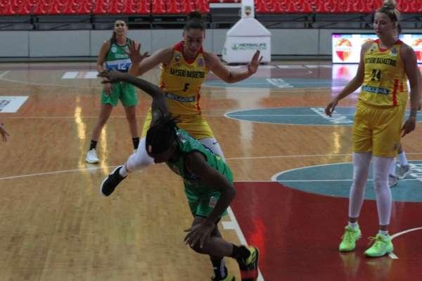 TKBL: Bellona Kayseri Basketbol:68 - İzmit Belediye Spor: 69