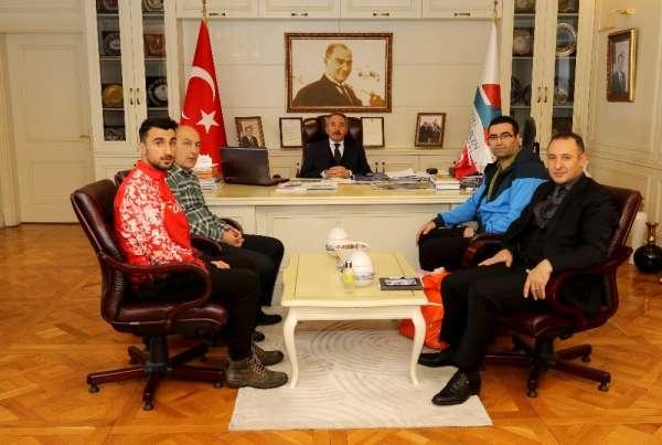 Ağrı İbrahim Çeçen Üniversitesi Rektörü Prof. Dr. Karabulut, dünya ikincisi spor
