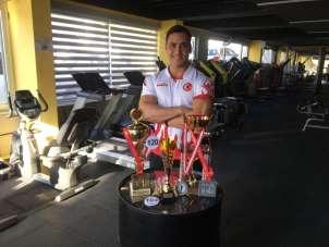 Antalyalı milli sporcu Şakir Yalın, dünya 6.'sı oldu