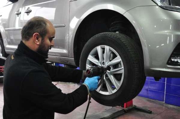 Araçlar için kışlık bakım uyarısı